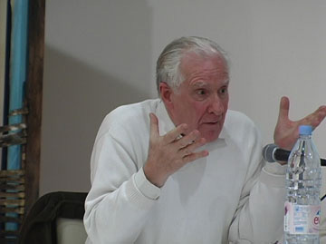 Badiou both hands